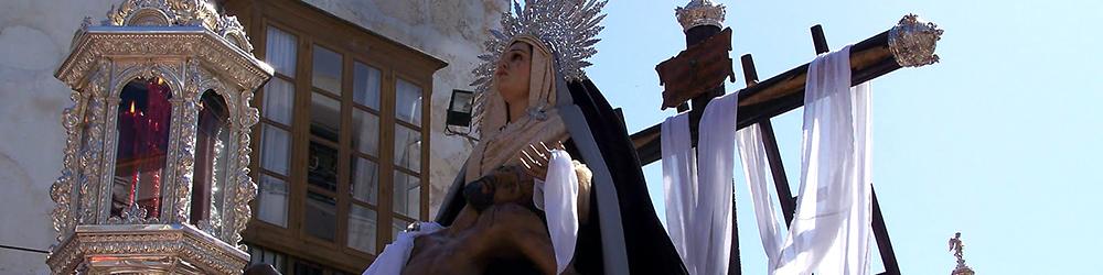 Venerable Hermandad  Sacramental  y Cofradia de Penitencia de Nuestra Madre y Señora la Santisima Virgen de la Caridad y Santisimo Cristo de la Salvacion en el Misterio de su Sagrada Mortaja