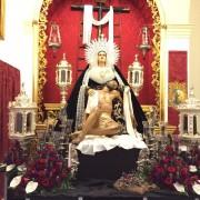 Santísima Virgen de la Caridad y Santisimo cristo de la Salvacion